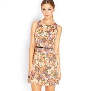 Forever21 • Pleated Sleeveless Mini Dress
